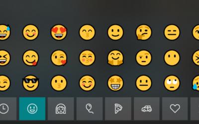 Astuce – Les Emojis sur windows